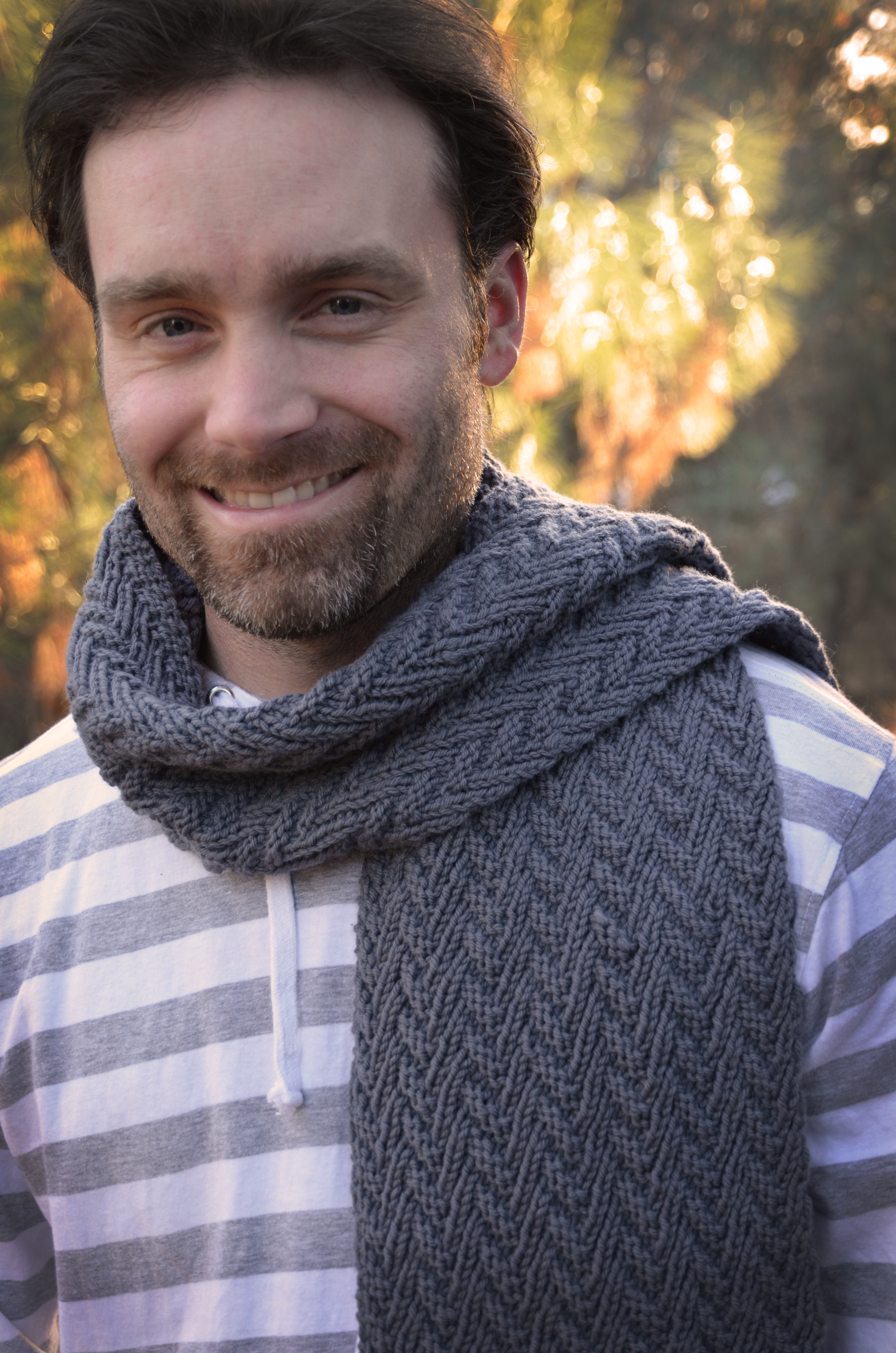 Men Scarf Knitting Pattern : Download my Knitting or Crochet Patterns   Our Curious Home
