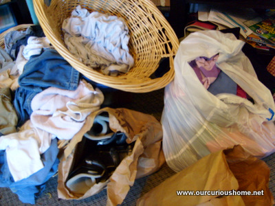 Oh no! The clean laundry got mixed up with the Epilepsy Foundation Donation