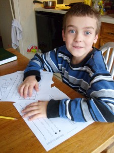 M with his adusted worksheets