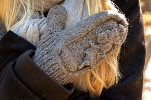 The Holly Mitten in golden light