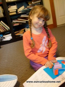 K with my paper engineering book