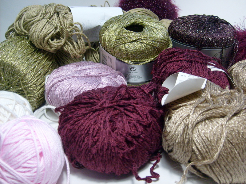 The yarn for K's project