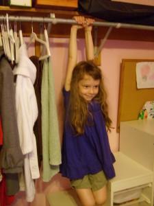 K in the closet