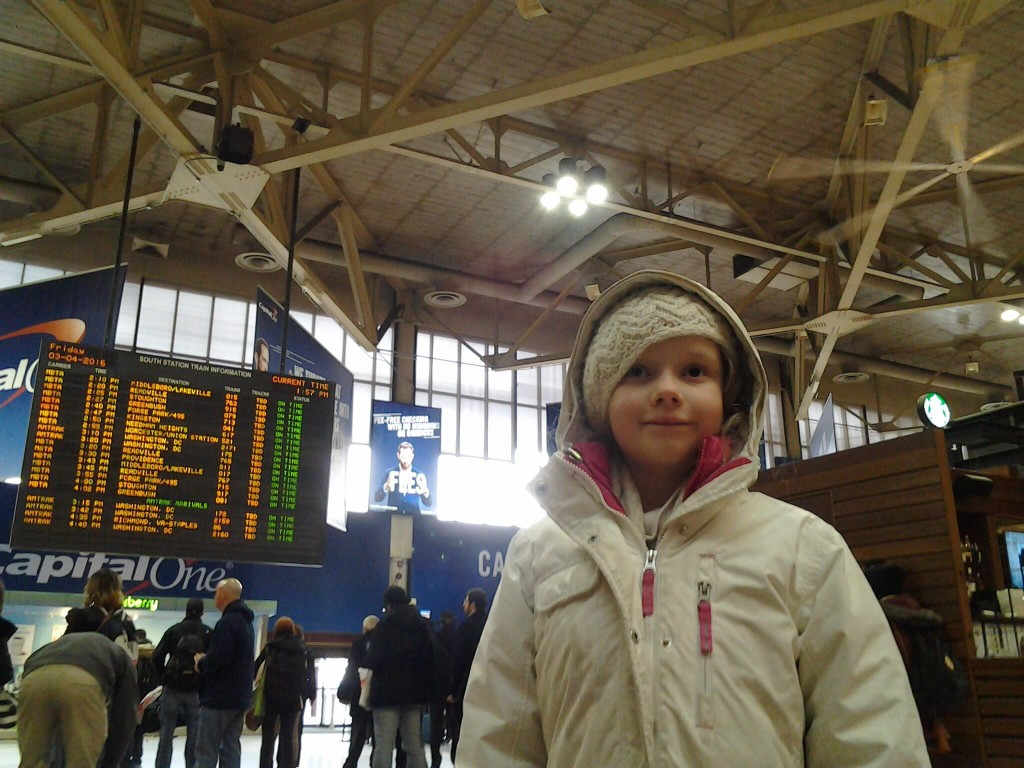 K in South Station
