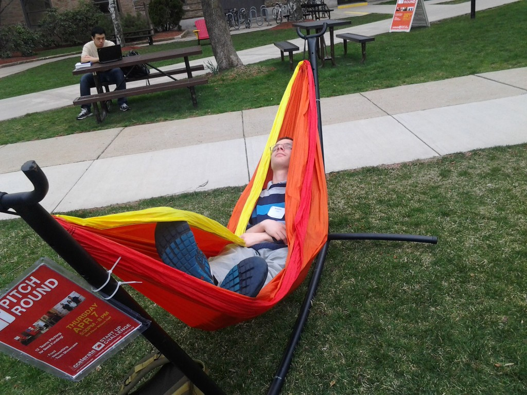 These hammocks are really comfy!