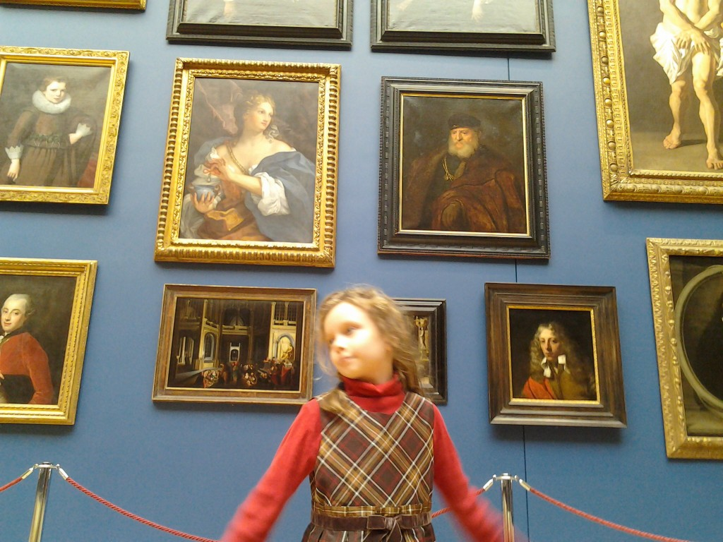 K in the picture gallery