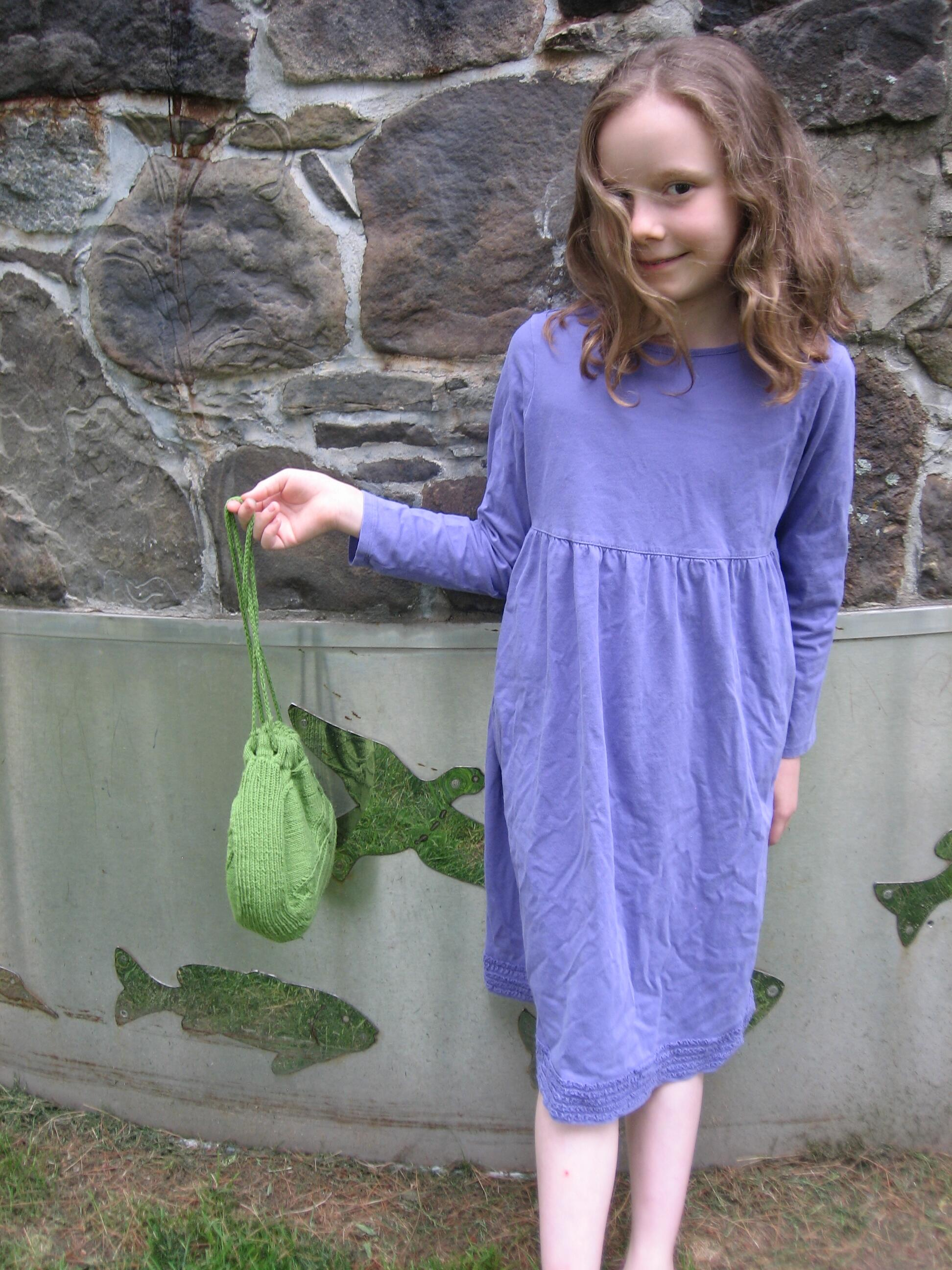 Sparrow Reticule Knitting Pattern (a Cross Post from Christine Guest ...